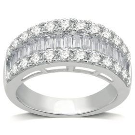2.00 CT. T.W. Diamond Band in 14K White Gold