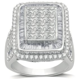 4.00 CT. T.W. Diamond Engagement Ring in 14K White Gold