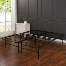 Night Therapy Smart Base Steel Bed Frame California King Foundation
