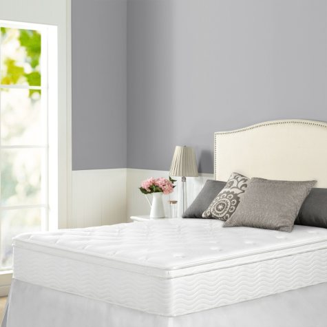 Night Therapy iCoil 12 Inch Euro box Top Spring Twin Mattress
