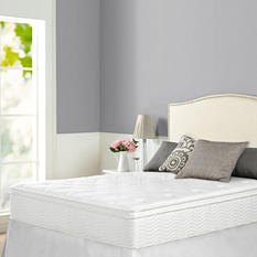 Night Therapy iCoil 12 Inch Euro Box Top Spring Queen Mattress