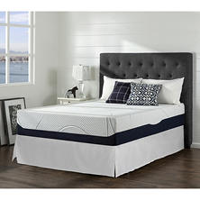 Night Therapy Gel Infused Memory Foam 13 Inch Elite Mattress & Bed Frame Set - Various Sizes