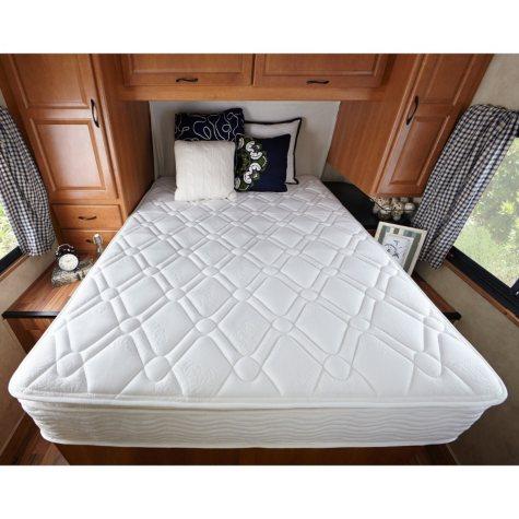 """Sleep Revolution 10"""" Pillowtop iCoil Spring RV Mattress, Short Queen"""
