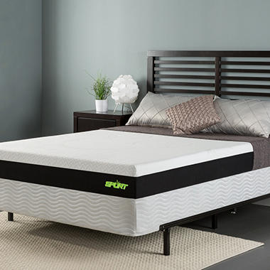 Sleep Revolution 8 Sport Memory Foam Mattress With Celliant Sleep