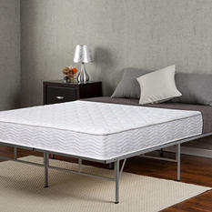 Night Therapy Spring 8-Inch Mattress and Easy To Assemble Smartbase Set (Various Sizes)