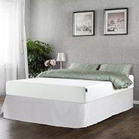 "Zinus Night Therapy 10"" Classic Green Tea Memory Foam Full Mattress and SmartBase Set"