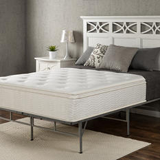 "Night Therapy Classic 12"" Euro Box Top Spring Mattress (Various Sizes)"