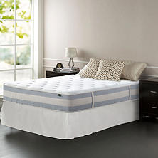 "Night Therapy 12"" Memory Foam Hybrid Mattress and SmartBase Foundation (Assorted Sizes)"