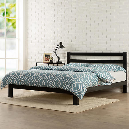 Modern Studio Metal Platform 2000H Bed (Assorted Sizes)