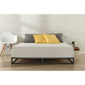 "Modern Studio 6"" Low-Profile Platform Bed Frame (Assorted Sizes)"