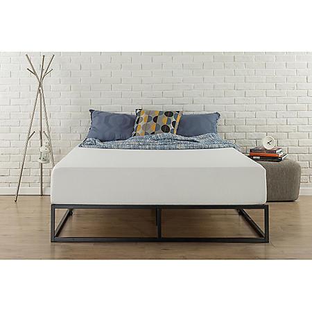 """Modern Studio 10"""" Low-Profile Platform Bed Frame (Assorted Sizes)"""