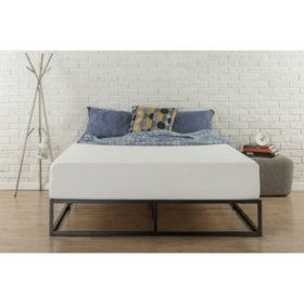 "Modern Studio 10"" Low-Profile Platform Bed Frame (Assorted Sizes)"