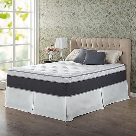 "Zinus Night Therapy 13.5"" ADAPTIVE Spring Queen Mattress"