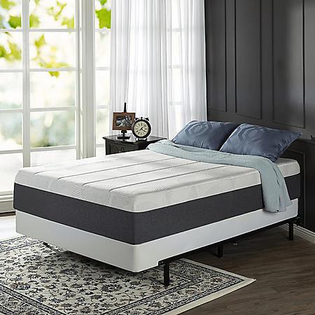 """Zinus Night Therapy 13.5"""" Adaptive Memory Foam King Mattress And Bi Fold Box Spring Set by Night Therapy"""