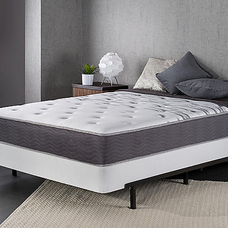"""Night Therapy 10"""" Support Plus Spring Twin Mattress and SmartBase Set"""