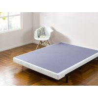 """Zinus Night Therapy 4"""" Low-Profile Wood and Metal Box Spring (Assorted Sizes)"""