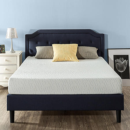 "Zinus Night Therapy Gel Infused Memory Foam 8"" Elite Queen Mattress"