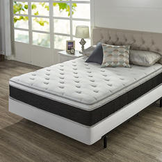 """Night Therapy 12"""" iCoil Premium Support Queen Mattress and BiFold Box Spring Set"""