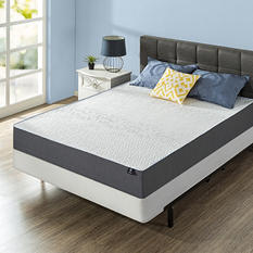 Night Therapy Gel Infused Memory Foam 10 Inch Elite Mattresses & BiFold Box Spring Set - Various Sizes