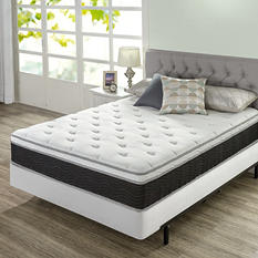 """Night Therapy 12"""" iCoil Premium  Firm Queen Mattress and BiFold Box Spring Set"""