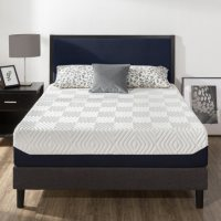 """Zinus Night Therapy 12"""" Breathable Cooling Memory Foam Full Mattress"""