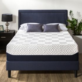 """Zinus Night Therapy 14"""" Breathable Cooling Memory Foam California King Mattress"""