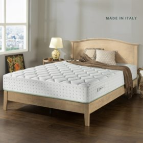 "Zinus Night Therapy Olive Oil Infused 12"" Hybrid King Mattress"