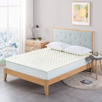 """Zinus Night Therapy 2"""" Convoluted Copper Memory Foam Mattress Topper (Various Sizes)"""
