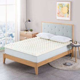 Zinus Night Therapy 3? Convoluted Copper Memory Foam Mattress Topper (Various Sizes)