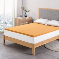 """Zinus Night Therapy 2"""" Copper Memory Foam Mattress Topper (Various Sizes)"""
