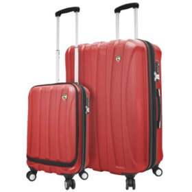 Mia Toro Italy Tasca Fusion 2-Piece Hardside Luggage Set