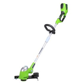 """GreenWorks G-MAX 40V 13"""" Cordless String trimmer - Battery and Charger Not Included"""