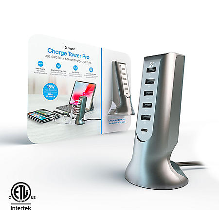 atomi Charge Tower Pro w/ 18W Power Delivery