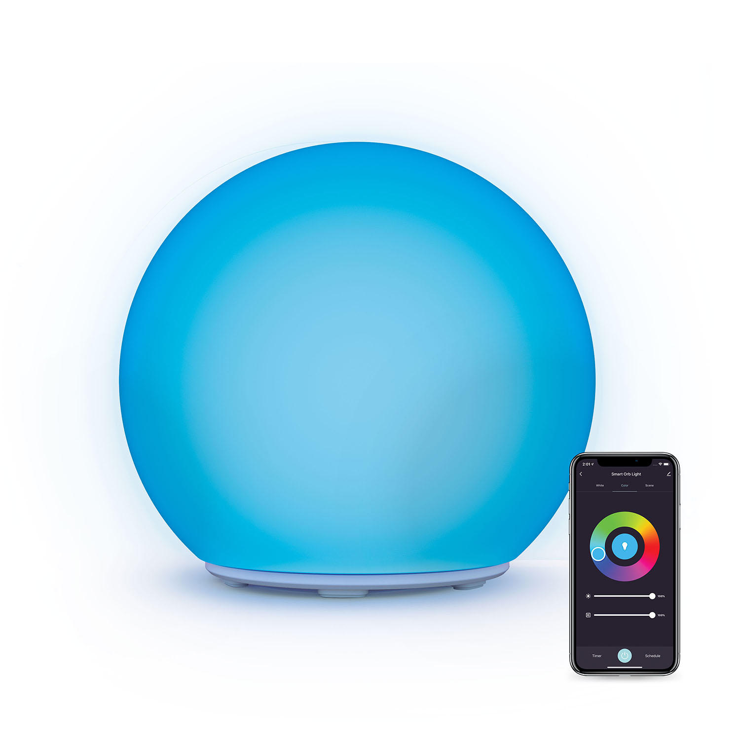 Atomi Smart LED Orb Light with WiFi