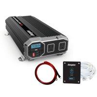 Energizer 1500 Watt 12V 60Hz Power Inverter with Remote Control