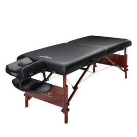 "Master Massage 30"" Del Ray Professional Portable Massage Table Package Black"