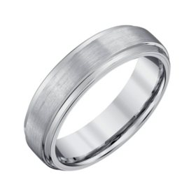 Men's 6mm Tungsten Wedding Band