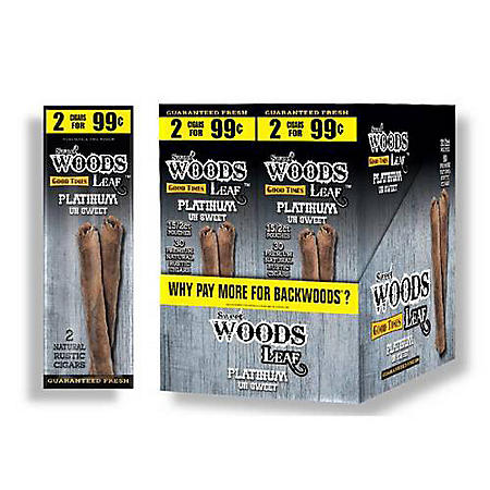 Sweet Woods Leaf Russian Cream Cigars Pre-Marked 2/$0.99 (2 ct., 30 pk.)