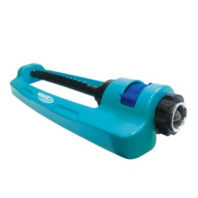 Aqua Joe SJI-OMS16 Indestructible Metal Base Oscillating Sprinkler