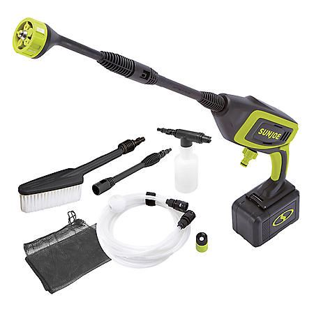 Sun Joe 24V Cordless Power Cleaner Bundle
