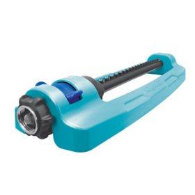 Aqua Joe SJI-OMS18 Indestructible Metal Base Oscillating Sprinkler
