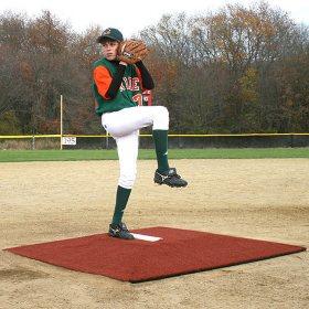 Minor League Game Pitching Mound