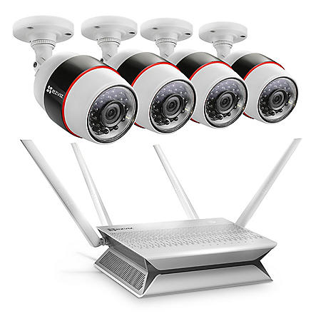 EZVIZ 8-Channel 1080p Wi-Fi NVR Surveillance System with