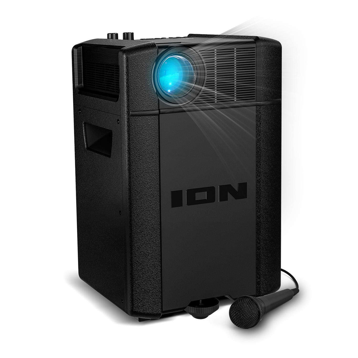 ION Audio 2000-Lumens 3LCD Portable Projector