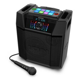 ION Explorer FX High-Power Bluetooth Speaker with Sound Effects