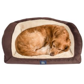 Serta Perfect Sleeper Camel-Back Couch Pet Bed (Choose Size and Color)