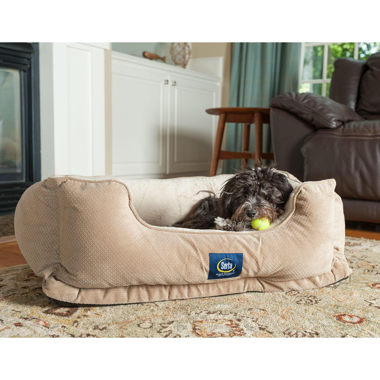 Serta Perfect Sleeper Orthopedic Cuddler Pet Bed, 34