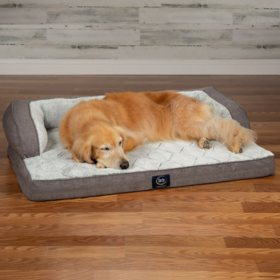 "Serta XL Luxury Sleeper Sofa Pet Bed, 43"" x 32"" (Choose Your Color)"