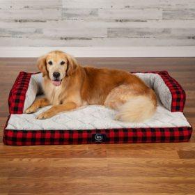 "Serta XL Luxury Sleeper Sofa Pet Bed, 43"" x 32"" (Choose Your Color)"