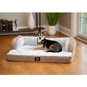 Serta Luxury Sleeper Sofa Pet Bed (Choose Your Size & Color)